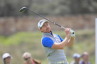 Brett Rumford (AUS) on the 11th tee during Round 3 of the Open de Espana 2018 at Centro Nacional de Golf on Saturday 14th April 2018.<br /> Picture:  Thos Caffrey / www.golffile.ie<br /> <br /> All photo usage must carry mandatory copyright credit (&copy; Golffile | Thos Caffrey)