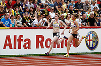 Photo: Richard Lane/Richard Lane Photography..Aviva British Grand Prix. 31/08/2009. On Camp with Kelly women's 800m.