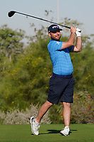 Andy Sullivan (ENG) on the 2nd during the Pro-Am of the Commercial Bank Qatar Masters 2020 at the Education City Golf Club, Doha, Qatar . 04/03/2020<br /> Picture: Golffile   Thos Caffrey<br /> <br /> <br /> All photo usage must carry mandatory copyright credit (© Golffile   Thos Caffrey)