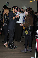 HOLLYWOOD, CA - OCTOBER 18: Frances Bean Cobain, Dave Navarro attends the launch party for Cassandra Peterson's new book 'Elvira, Mistress Of The Dark' at the Hollywood Roosevelt Hotel on October 18, 2016 in Hollywood, California. (Credit: Parisa Afsahi/MediaPunch).