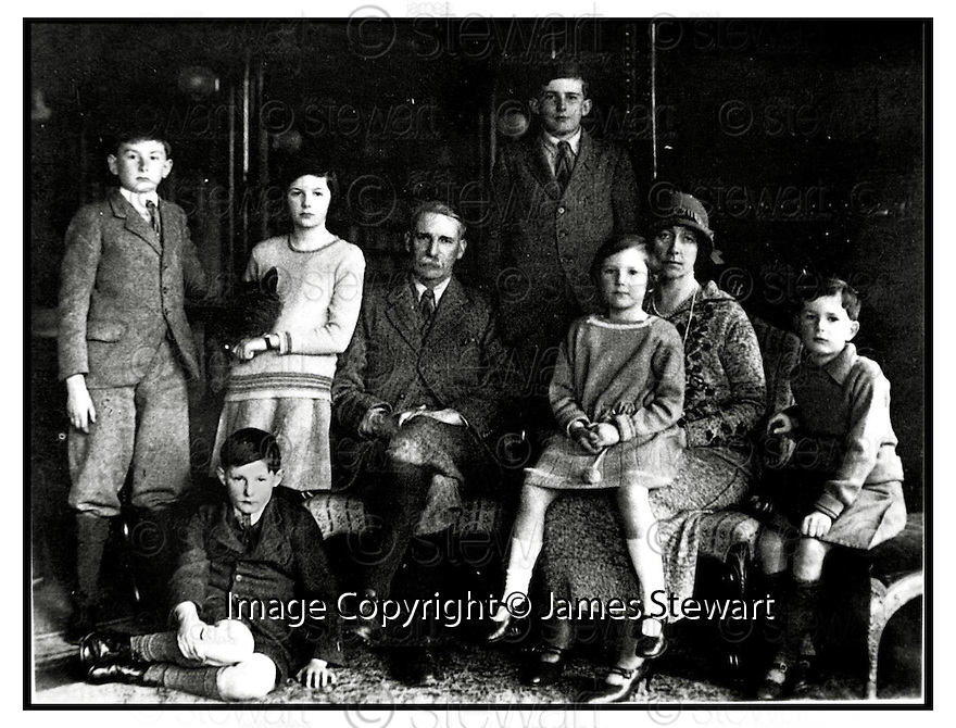 31st  October  2000      Copyright Pic : James Stewart .Ref :                           .File Name : stewart02-david stirling .FOUNDER OF THE SAS DAVID STIRLING, SEATED ON FLOOR, PICTURED AS A BOY WITH HIS FAMILY TE STIRLINGS OF KEIR.... DAVID STIRLING IS TO HAVE A STATUE ERECTED IN HIS HONOUR AT HIS FAMILY ESTATE NEAR STIRLING..... (photograph taken from The Authorised Biography of David Stirling).....(see copy from George Mair / Tim Bugler).......Payments to :-.James Stewart Photo Agency, Stewart House, Stewart Road, Falkirk. FK2 7AS      Vat Reg No. 607 6932 25.Office : +44 (0) 1324 630007        Mobile : 07721 416997.Fax     : +44 (0) 1324 630007.E-mail : jim@jspa.co.uk.If you require further information then contact Jim Stewart on any of the numbers above.........