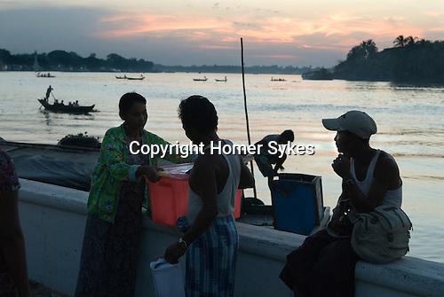 Pathein Burma Myanmar 2011