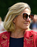 Trainer Eve Johnson Houghton during Horse Racing at Salisbury Racecourse on 15th August 2019
