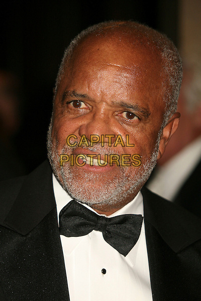 BERRY GORDY JR..Clive Davis 2007 Pre-Grammy Awards Party at the Beverly Hilton Hotel, Beverly Hills, USA..February 10th, 2007.headshot portrait bow tie beard facial hair .CAP/ADM/BP.©Byron Purvis/AdMedia/Capital Pictures