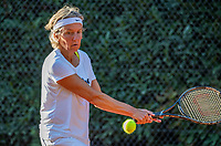 Hilversum, The Netherlands,  August 23, 2019,  Tulip Tennis Center, NSK, Jeanette Ozinga (NED)<br /> Photo: Tennisimages/Henk Koster