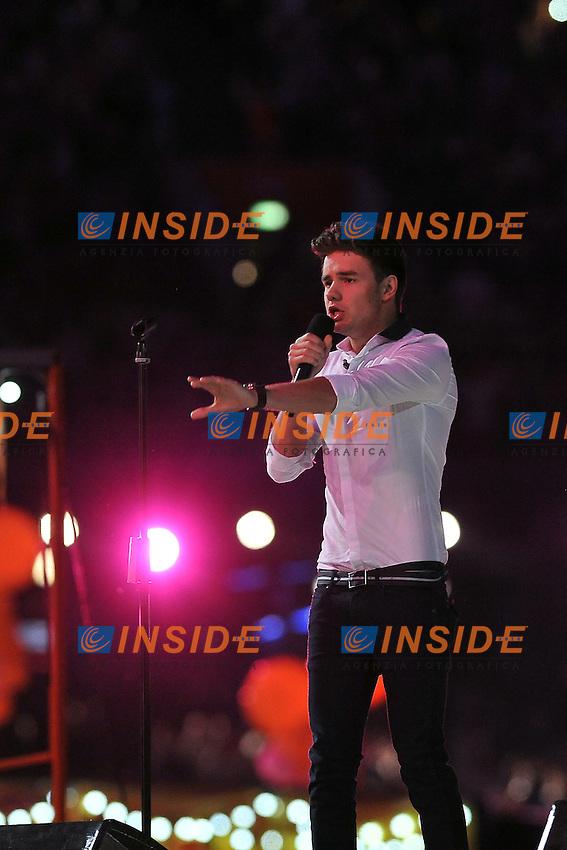 One Direction.Londra 12/08/2012 Olympic Stadium.London 2012 Olympic Games Closing Ceremony.Olimpiadi Londra 2012 Cerimonia d chiusura.Foto Insidefoto Giovanni Minozzi.