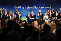 Only last March Enda Kenny and Richard Bruton were showing no signs of disunity when they were both given a standing ovation by the front bench at the Fine Gael Ard Fheis in The Malton Hotel, Killarney.<br /> Picture by Don MacMonagle