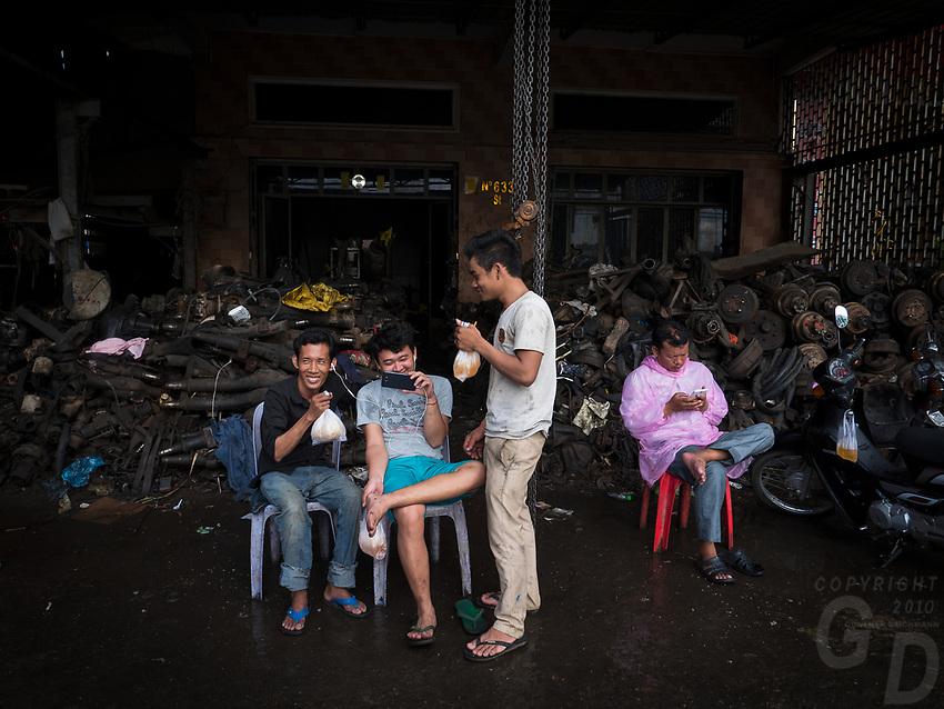 Machine and repair Workshops in Phnom Penh, Cambodia