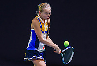 Hilversum, Netherlands, December 3, 2017, Winter Youth Circuit Masters, 12,14,and 16 years, Joy De Zeeuw (NED)<br /> Photo: Tennisimages/Henk Koster