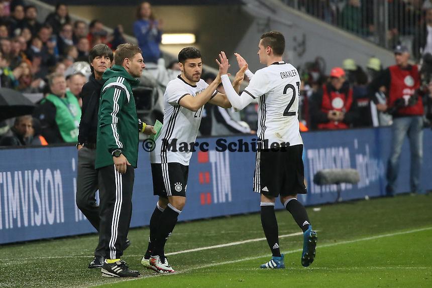 Kevin Volland (D) kommt - Deutschland vs. Italien, Allianz Arena München