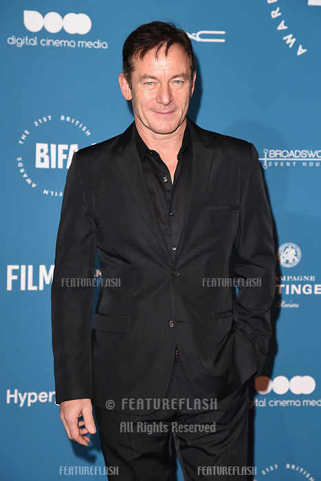 LONDON, UK. December 02, 2018: Jason Isaacs at the British Independent Film Awards 2018 at Old Billingsgate, London.<br /> Picture: Steve Vas/Featureflash