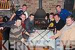WERE TO PLAY: The member's of the Abbey Tavern Golf Society wonder were to play in the cold weather in Ardfert on Saturday pictured Justin Horgan (president), Con Sullivan (PRO), Pa Lonegan, Francis Fitzgerald, Dan Harman, Seanie Griffin, Justin Horgan (Jnr) and Paul Sheehan.