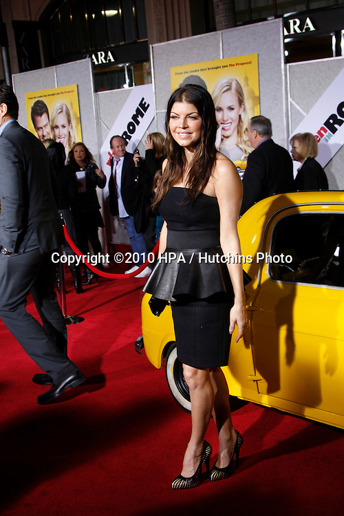 "Stacy Ferguson aka Fergie.arriving at the ""When in Rome"" World Premiere.El Capitan Theater.Los Angeles, CA.January 27, 2010.©2010 HPA / Hutchins Photo...."