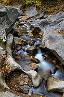 Sculptured Rocks natural Area, Rumney, New Hampshire, USA.
