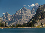 Middle Teton From Lake Solitude, Grand Teton National Park