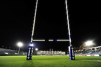 A general view of the Recreation Ground pitch prior to the match. Anglo-Welsh Cup match, between Bath Rugby and Leicester Tigers on November 4, 2016 at the Recreation Ground in Bath, England. Photo by: Patrick Khachfe / Onside Images