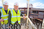 Pat Duggan, Duggan Developments, Killarney, oversees the Pennys development on High Street, Killarney with his son Pat junior...