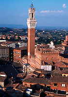 Overview of the Siena skyline.