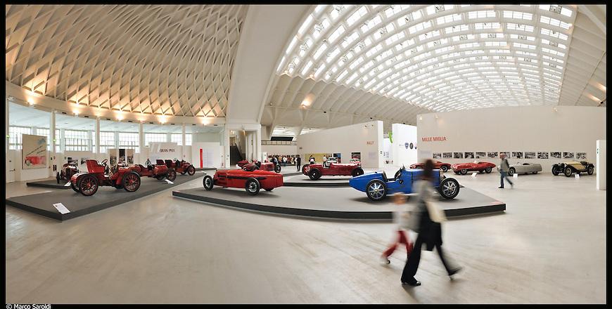 Torino Esposizioni. Immagine appartenente al progetto fotografico Vita da Museo di Marco Saroldi.