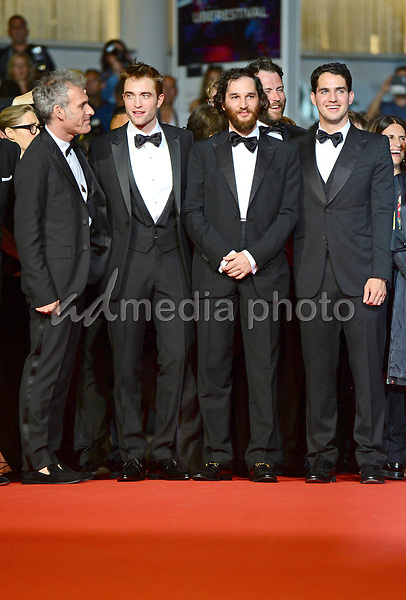 """25 May 2017 - Cannes, France - Guest, Robert Pattinson, Joshua Safdie, Ben Safdie. """"Good Time"""" Premiere - The 70th Annual Cannes Film Festival. Photo Credit: Jan Sauerwein/face to face/AdMedia"""
