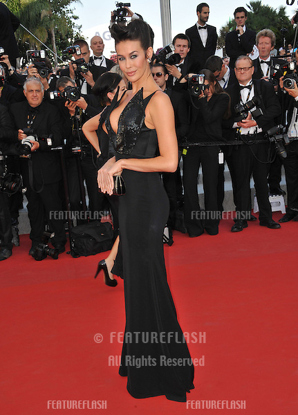 "Megan Gale at the gala screening of ""Mud"" in competition at the 65th Festival de Cannes..May 26, 2012  Cannes, France.Picture: Paul Smith / Featureflash"