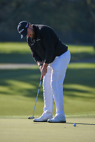 Shane Lowry (IRL) watches his putt on 1 during round 1 of the Arnold Palmer Invitational at Bay Hill Golf Club, Bay Hill, Florida. 3/7/2019.<br /> Picture: Golffile | Ken Murray<br /> <br /> <br /> All photo usage must carry mandatory copyright credit (© Golffile | Ken Murray)