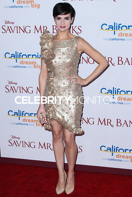 "BURBANK, CA - DECEMBER 09: Victoria Summer arriving at the U.S. Premiere Of Disney's ""Saving Mr. Banks"" held at Walt Disney Studios on December 9, 2013 in Burbank, California. (Photo by Xavier Collin/Celebrity Monitor)"