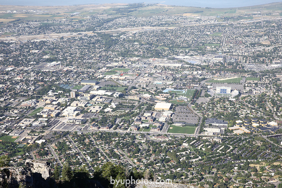 1309-22 1463<br /> <br /> 1309-22 BYU Campus Aerials<br /> <br /> Brigham Young University Campus, Provo, <br /> <br /> East Campus at Sunrise, East looking West, Provo, Y Mountain. <br /> <br /> September 7, 2013<br /> <br /> Photo by Jaren Wilkey/BYU<br /> <br /> &copy; BYU PHOTO 2013<br /> All Rights Reserved<br /> photo@byu.edu  (801)422-7322