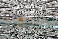 Interior view of Shanghai Train Station, Shanghai, China