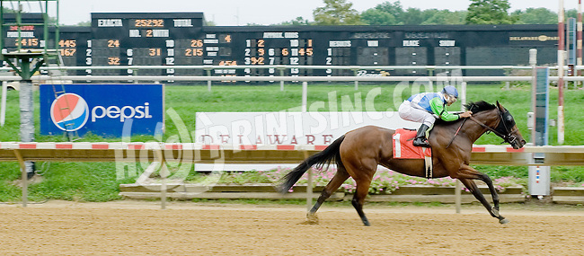 Sister Earth winning at Delaware Park on 9/6/12