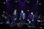 CORAL GABLES, FL - MARCH 05: Piero Barone, Ignazio Boschetto and Gianluca Ginoble of IL Volvo performs at Bank United Center on Saturday March 05, 2016 in Miami, Florida. ( Photo by Johnny Louis / jlnphotography.com )