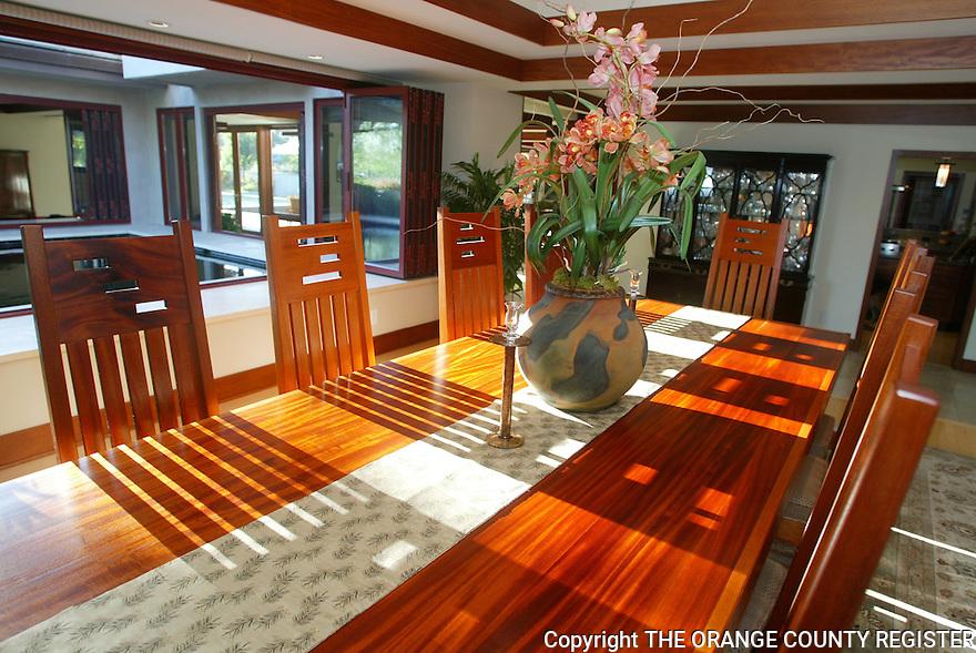 Fullerton 'Prairie' style home interior for OC Home Magazine. Portfolio only.