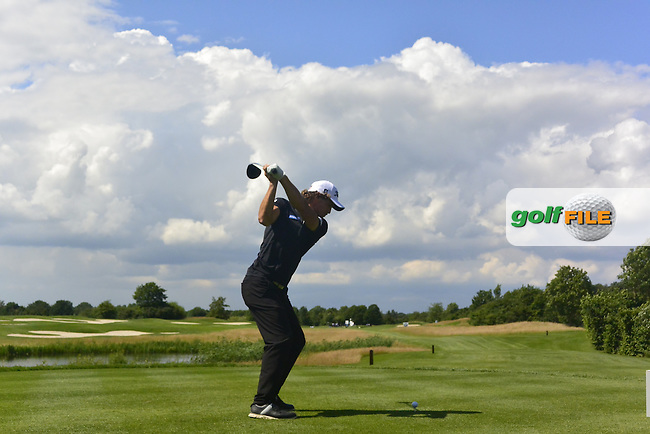 Clement Berardo (FRA) on the 14th tee during Round 4 of the 2016 BMW International Open at the Golf Club Gut Laerchenhof in Pulheim, Germany on Sunday 26/06/16.<br /> Picture: Thos Caffrey | Golffile