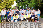 the crowd that participated in Cians walk in aid of Killarney water Rescue in Killarney National Park on Saturday