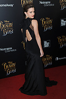 www.acepixs.com<br /> March 13, 2017  New York City<br /> <br /> Emma Watson arriving at the New York special screening of Disney's live-action adaptation 'Beauty and the Beast' at Alice Tully Hall on March 13, 2017 in New York City.<br /> <br /> Credit: Kristin Callahan/ACE Pictures<br /> <br /> Tel: 646 769 0430<br /> Email: info@acepixs.com