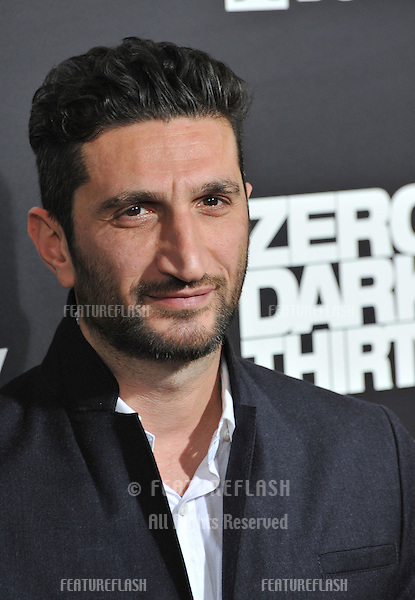 "Fares Fares at the premiere of his movie ""Zero Dark Thirty"" at the Dolby Theatre, Hollywood..December 10, 2012  Los Angeles, CA.Picture: Paul Smith / Featureflash"