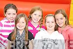 B-B-Q FUN: Chloe Bartlett, Rebecca O'Shea, Christine Cooper, Laura O'Sullivan and Amy O'Shea having fun at the Dr Crokes barbecue in Lewis Road on Sunday.   Copyright Kerry's Eye 2008