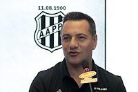 CAMPINAS, SP, 26.03.2018: PONTE PRETA-A equipe da Ponte Preta apresentou nesta segunda-feira (26) no estadio Moises Lucarelli, na cidade de Campinas (SP) o tecnico Doriva. (Foto: Denny Cesare/Codigo19)