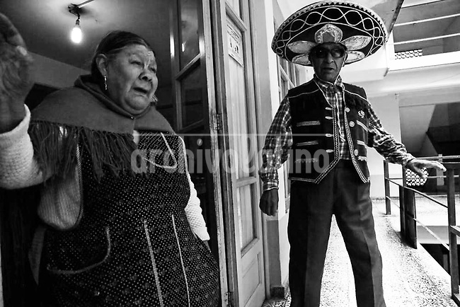 A shelter for elderly homeless in La Paz, Bolivia