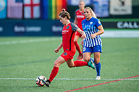 Boston, MA - Sunday September 10, 2017: Meghan Klingenberg during a regular season National Women's Soccer League (NWSL) match between the Boston Breakers and Portland Thorns FC at Jordan Field.