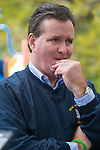 Merrick, New York, USA. October 29, 2016. New York State Senator JOHN J FLANAGAN, (Rep - 2nd Senate District), looking pensive, is one of several Long Island politicians the 2016 annual Merrick Spooktacular hosted in part by the North and Central Merrick Civic Association (NCMCA). Flanagan is the NYS Senate's Temporary President and Majority Leader. The holiday party was at Fraser Park.