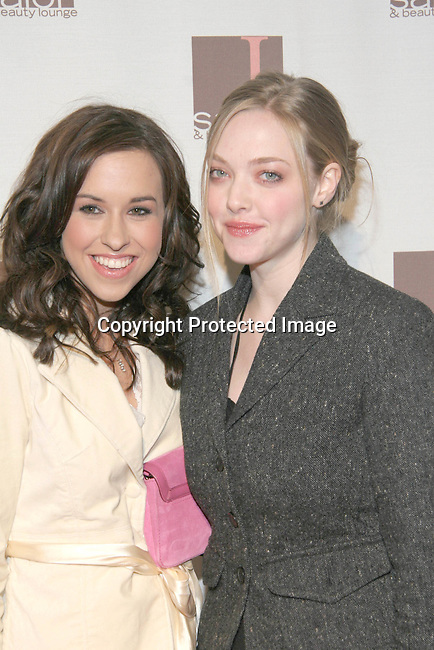 Lacey Chabert &amp; Amanda Seyfried<br />Grand Re-opening of The New Location of &ldquo;L Salon&rdquo;, featuring a Fashion Show by Ladies of the Canyon, to benefit Cedars-Sinai&rsquo;s C.O.A.C.H. for Kids and Their Families<br />L Salon<br />Los Angeles, CA, USA<br />Wednesday, December 1st, 2004<br />Photo By Celebrityvibe.com/Photovibe.com, <br />New York, USA, Phone 212 410 5354, <br />email: sales@celebrityvibe.com