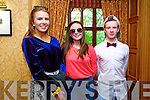 Sorcha De Bhillis, Ciarda Ni Bhrosnachain and Dylan Harris at the Gaelscoil Chiarrai Fashion Show at the Meadowlands on Thursday