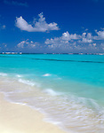 Anguilla, BWI<br /> A long stretch of white sand beach and the turquoise Caribbean waters of Shoal Bay East on the northeast coast of Anguilla