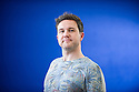 Edinburgh, UK. 14.08.2013. Alan Bissett, Edinburgh International Book Festival. Photograph © Jane Hobson.