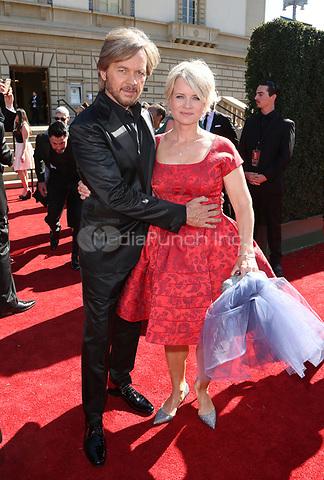 PASADENA, CA - April 30: Mary Beth Evans, Stephen Nichols, At 44th Annual Daytime Emmy Awards Roaming At The Pasadena Civic Auditorium In California on April 30, 2017. Credit: FS/MediaPunch