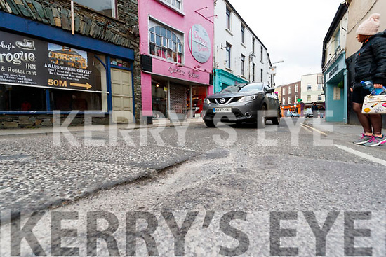 Pothole in Bridge Street Tralee