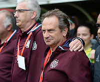 20170513 - MECHELEN , BELGIUM : Anderlecht's head coach Patrick Wachel pictured during the final of Belgian cup 2017 , a womensoccer game between RSC Anderlecht and KAA Gent Ladies , in the AFAS stadion in Mechelen , saturday 13 th Mayl 2017 . PHOTO SPORTPIX.BE | BELGA |  DAVID CATRY