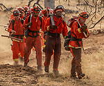 Cal Fire training fire at Long Ranch Shooting Range, 4443 Old Highway west of Mariposa.