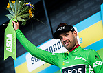 Christopher Lawless (GBR) Team Ineos also takes over the sprints Green Jersey at the end of Stage 3 of the 2019 Tour de Yorkshire, running 132km from Brindlington to Scarborough, Yorkshire, England. 4th May 2019.<br /> Picture: ASO/SWPix | Cyclefile<br /> <br /> All photos usage must carry mandatory copyright credit (&copy; Cyclefile | ASO/SWPix)